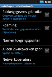 Samsung S5660 Galaxy Gio - Internet - Uitzetten - Stap 6