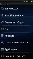 Sony Ericsson Xperia Arc S - Internet - activer ou désactiver - Étape 4