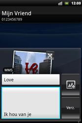 Sony Ericsson Xperia Mini Pro - MMS - afbeeldingen verzenden - Stap 12