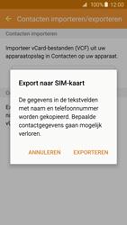 Samsung Galaxy S6 Edge - Contacten en data - Contacten kopiëren van toestel naar SIM - Stap 9