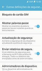 Samsung Galaxy Xcover 3 (G389) - Segurança - Como ativar o código PIN do cartão de telemóvel -  6