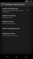 Sony LT30p Xperia T - Buitenland - Bellen, sms en internet - Stap 6