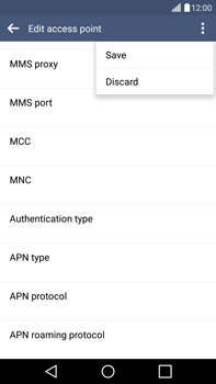 LG H815 G4 - MMS - Manual configuration - Step 16