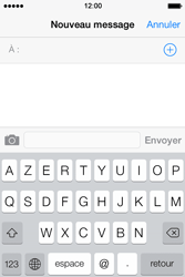 Apple iPhone 4 - Contact, Appels, SMS/MMS - Envoyer un SMS - Étape 4