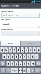 LG Optimus L9 - E-mail - Configurar correo electrónico - Paso 8