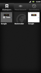 Sony ST25i Xperia U - Internet - Internet gebruiken - Stap 10