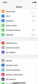 Apple iPhone X - Funciones básicas - Activar o desactivar el modo avión - Paso 3