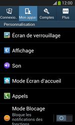 Samsung Galaxy S3 Lite (I8200) - Messagerie vocale - configuration manuelle - Étape 6