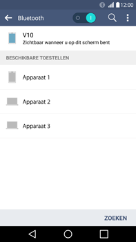 LG V10 - Bluetooth - Koppelen met ander apparaat - Stap 7