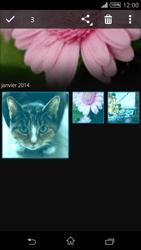 Sony Xpéria T3 - Photos, vidéos, musique - Envoyer une photo via Bluetooth - Étape 7