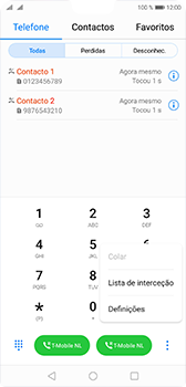 Huawei P20 - Chamadas - Como bloquear chamadas de um número -  4