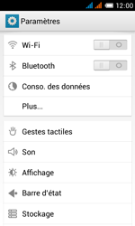 Alcatel OT-4033X Pop C3 - Wifi - configuration manuelle - Étape 3