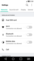 LG K4 2017 - Internet - Enable or disable - Step 5
