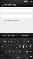 HTC One - E-mail - Handmatig instellen - Stap 7