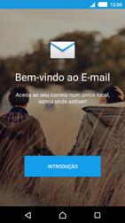Sony Xperia M4 Aqua - Email - Adicionar conta de email -  4