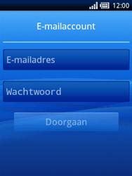 Sony Ericsson Xperia X10 Mini - E-mail - Handmatig instellen - Stap 5