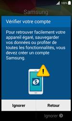 Samsung Galaxy Trend 2 Lite - Premiers pas - Créer un compte - Étape 25