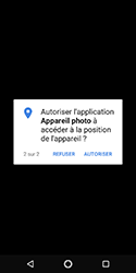 Nokia 3.1 - Photos, vidéos, musique - Prendre une photo - Étape 5