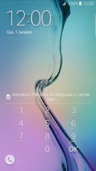 Samsung Galaxy S6 Edge - Primeiros passos - Como ligar o telemóvel pela primeira vez -  3