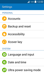 Samsung G388F Galaxy Xcover 3 - Device - Reset to factory settings - Step 5