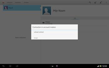 Sony SGP321 Xperia Tablet Z LTE - Contacten en data - Contacten kopiëren van SIM naar toestel - Stap 7