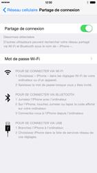 Apple iPhone 6 Plus iOS 8 - Internet et connexion - Partager votre connexion en Wi-Fi - Étape 9