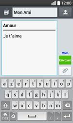 LG F70 - Contact, Appels, SMS/MMS - Envoyer un MMS - Étape 12