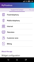 HTC Desire 530 - Applications - MyProximus - Step 21