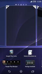 Sony Xpéria T3 - Applications - Personnaliser l