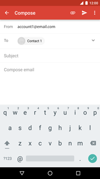 Huawei Google Nexus 6P - Email - Sending an email message - Step 7