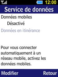Samsung B550H Xcover 550 - Internet - activer ou désactiver - Étape 7