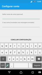Sony Xperia Z3 Plus - Email - Configurar a conta de Email -  20