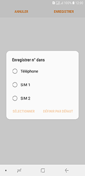 Samsung Galaxy J6 - Contact, Appels, SMS/MMS - Ajouter un contact - Étape 6