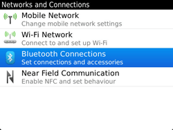 BlackBerry 9900 Bold Touch - Bluetooth - Pair with another device - Step 5