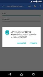 Sony Xperia XZ (F8331) - E-mail - Escribir y enviar un correo electrónico - Paso 5
