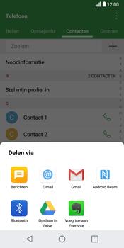 LG G6 (LG-H870) - Contacten en data - Contacten overzetten via Bluetooth - Stap 9
