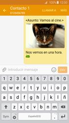 Samsung Galaxy S6 - Mensajería - Escribir y enviar un mensaje multimedia - Paso 26
