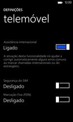 Nokia Lumia 625 - Segurança - Como ativar o código PIN do cartão de telemóvel -  6