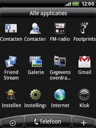 HTC A3333 Wildfire - Internet - hoe te internetten - Stap 2