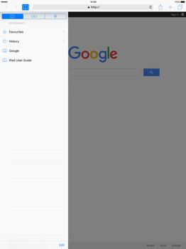Apple iPad Pro 12.9 (1st gen) - iOS 9 - Internet - Internet browsing - Step 8