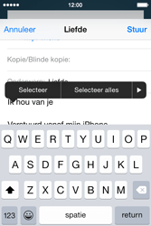Apple iPhone 4S iOS 8 - E-mail - hoe te versturen - Stap 9