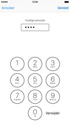 Apple iPhone 6 met iOS 9 (Model A1586) - Beveiliging en ouderlijk toezicht - Hoe wijzig ik mijn SIM PIN-code - Stap 7