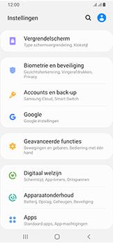 Samsung Galaxy A40 - Data - maak een back-up met je account - Stap 4