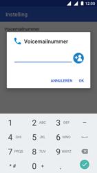 Nokia 3 - Voicemail - handmatig instellen - Stap 12