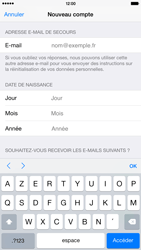 Apple iPhone 6 Plus - Applications - Créer un compte - Étape 15