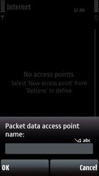 Nokia 5800 Xpress Music - Internet - Manual configuration - Step 10