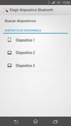 Sony Xperia E4g - Bluetooth - Transferir archivos a través de Bluetooth - Paso 15