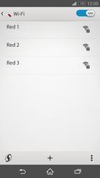 Sony Xperia Z3 - WiFi - Conectarse a una red WiFi - Paso 6