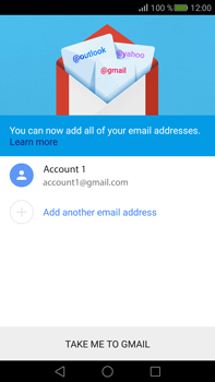 Huawei Mate S - E-mail - Manual configuration (gmail) - Step 15