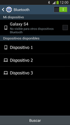Samsung Galaxy S4 - Bluetooth - Conectar dispositivos a través de Bluetooth - Paso 6